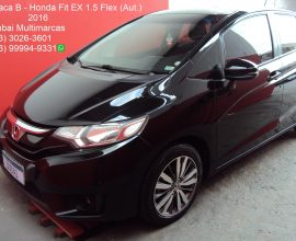 HONDA NEW FIT EX 1.5 FLEX (AUT.)