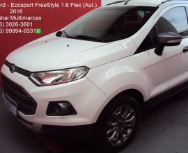 FORD   ECOSPORT FREESTYLE 1.6 16V FLEX (AUT.)