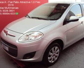 FIAT PALIO  ATTRACTIVE 1.0 FLEX