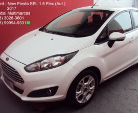 FORD NEW FIESTA SEL 1.6 FLEX (AUT.)