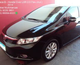 HONDA CIVIC LXR 2.0 FLEX (AUT.)